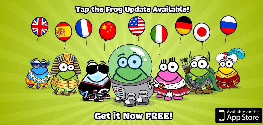 tapthefrog1-5update